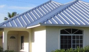 Metal roof by Barfield Roofing