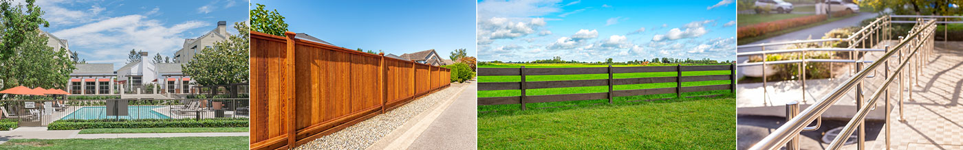 Different types of fencing